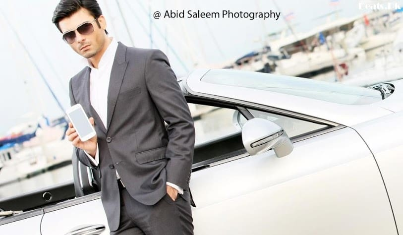 Fawad-Afzal-Khan-Photoshoot-For-Q-Mobile-TVC-13