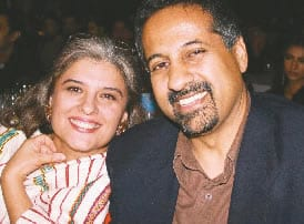 Marina Khan and jaleel akhtar