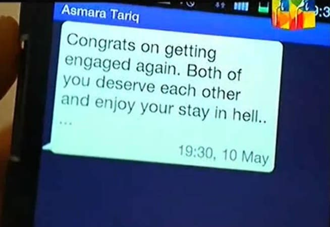 Asmara message