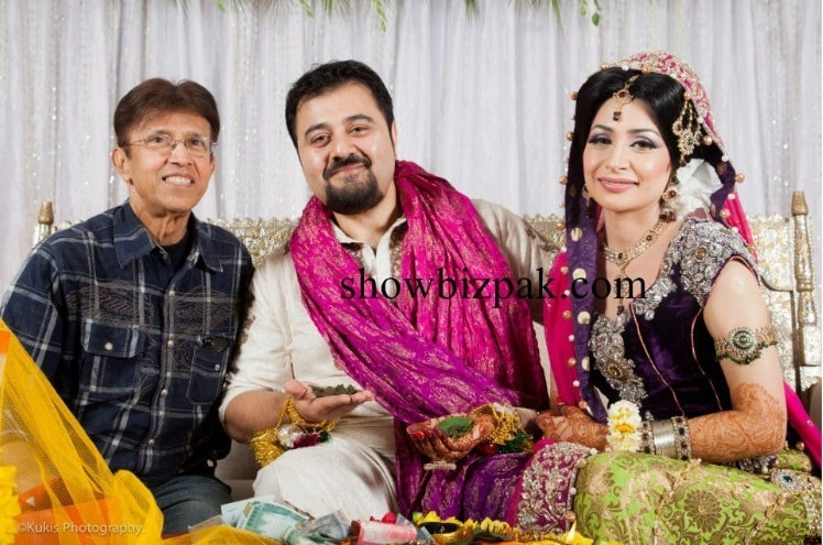 Mehndi Bride And Groom : Ahmed ali butt s mehndi pictures reviewit pk