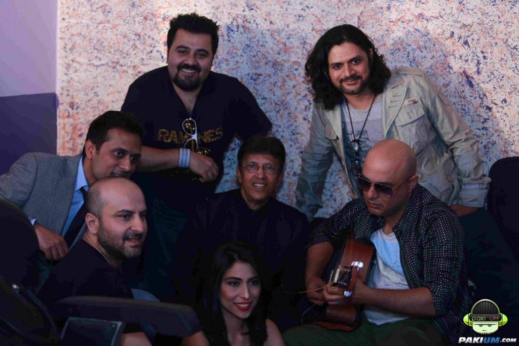 Bilal-Shahi-Ahmed-Butt-Meesha-Alamgir-Ali-Azmat-Faisal-Kapadia-Cornetto-Music-Icons