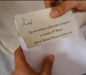kashaf letter
