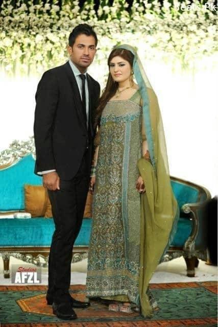 Wahab Riaz and Zainab Shahid