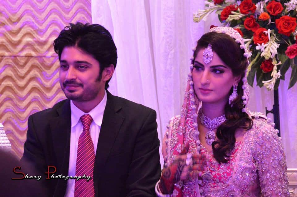 babar khan and sana khan wedding pictures released
