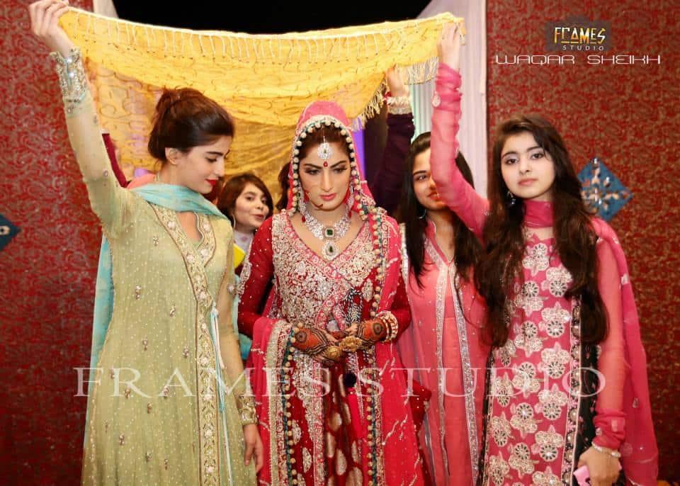 Babar khan wife wedding
