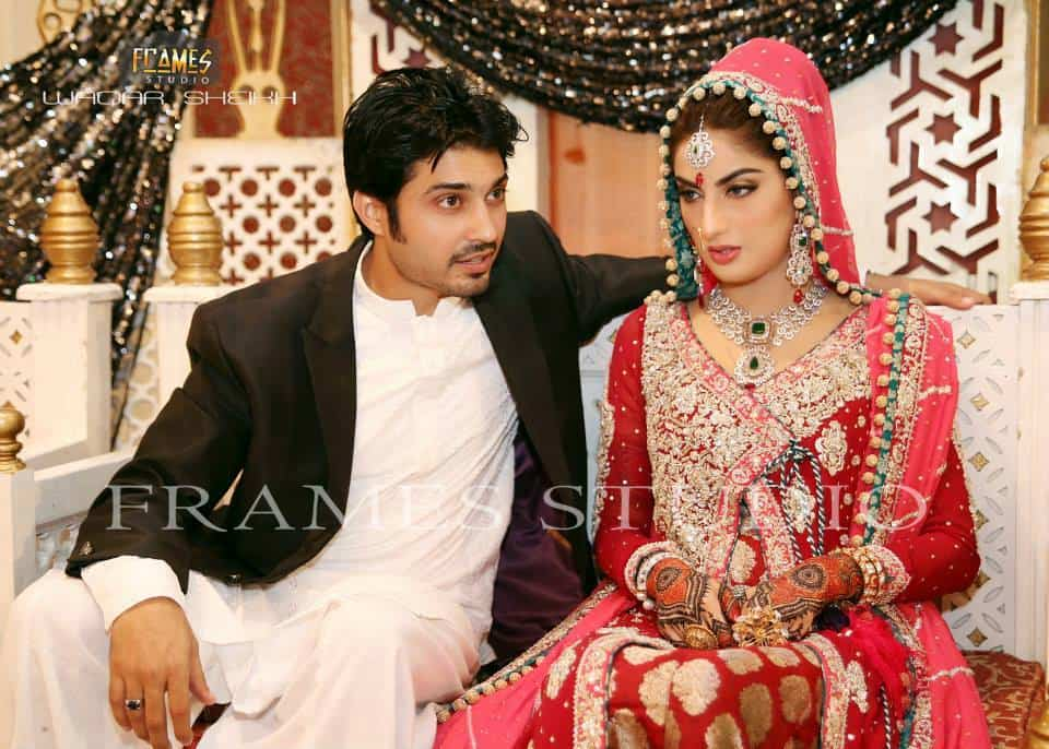 Sana And Babar Khan S Wedding Pictures Reviewit Pk