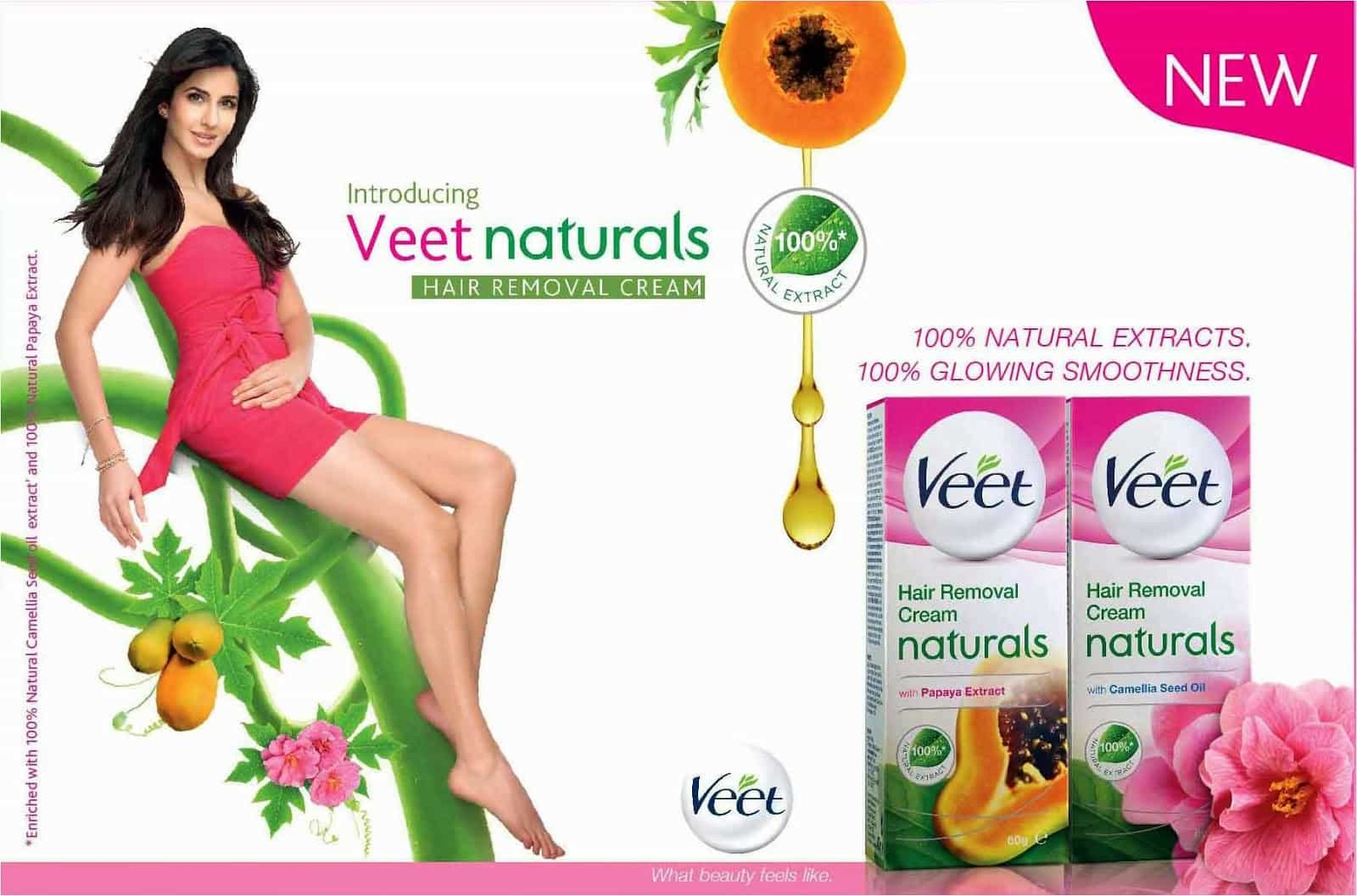 how to use veet in hindi
