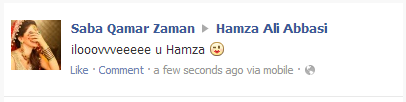 hamza ali abbasi and saba qamar dating games