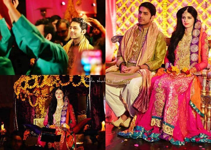 Gohar Mumtaz Amp Anam Ahmed Wedding Pictures Reviewit Pk