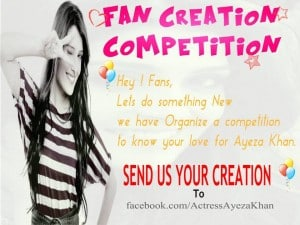 Ayeza fans competition