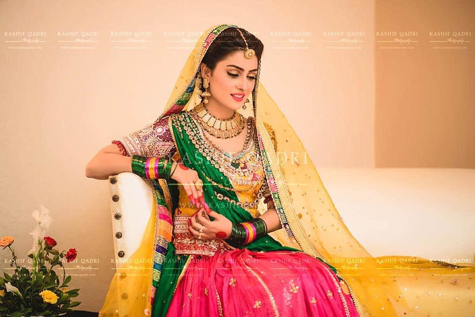 Aiza Reviewit.pk   Mehndi Photoshoot Khan