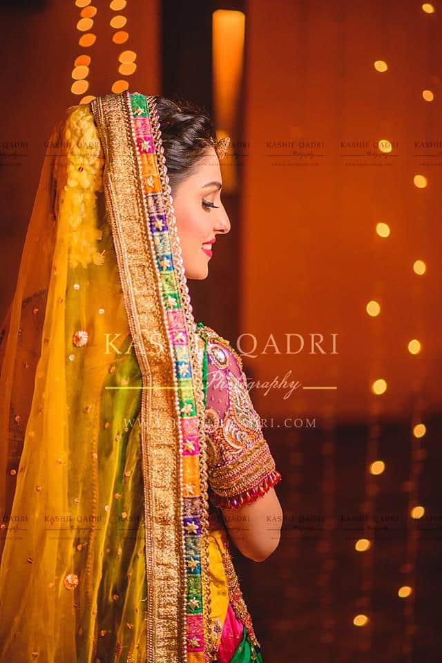 Aiza Khan's Mehndi Photoshoot | Reviewit.pk