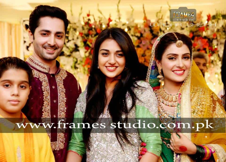 danish taimoor ayeza khan mehandi pics reviewitpk