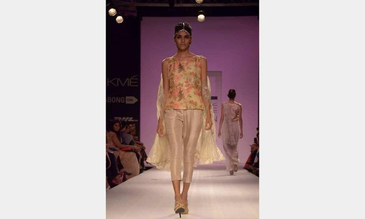 pakistani designers at lakme fashion week  mumbai  india