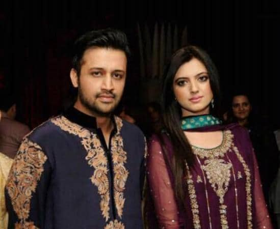 Arts-and-Entertainment-Atif-Aslam-with-his-Wife-in-a-Private-Party-3517