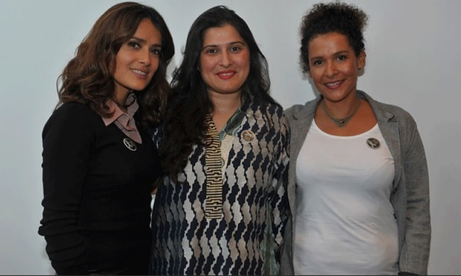 Sharmeen Obaid-Chinoy And Salma Hayek Launch A Documentary In France