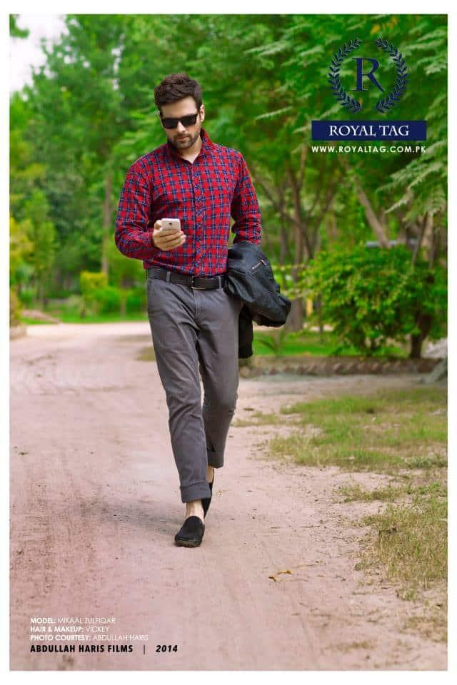 Meekal Zulfiqar S Latest Photoshoot For Royal Tag