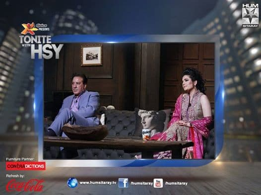 Tonite With HSY- (Javed Sheikh & Resham) Episode 13