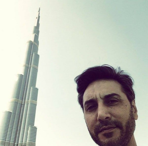 The selfie from Dubai