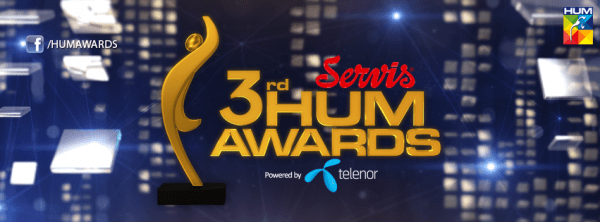3rd Hum Tv awards to be held on 9th April 2015