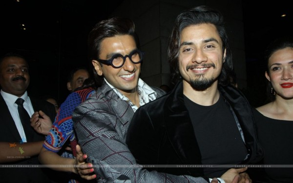 Ranveer Singh and Ali Zafar at the 59th Idea Filmfare Pre Awards Party