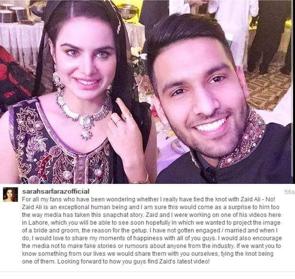 zaidalit did not get married reviewitpk