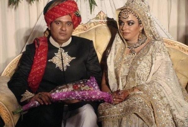 Maryam booth wedding