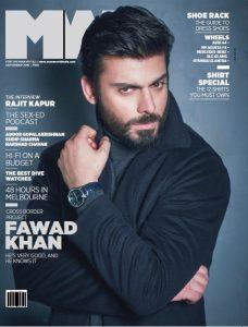 Fawad Khan kills the Cover of MW Magazine India