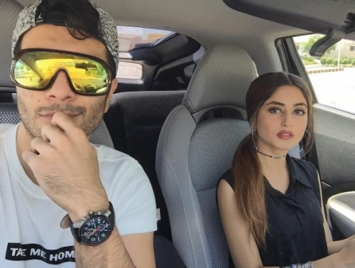 Sajal Feroz busy with Promotional Activities