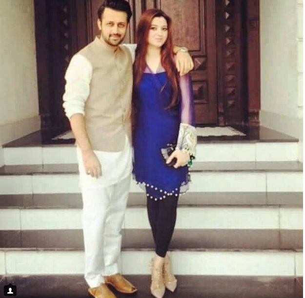 Beautiful Pictures Of Atif Aslam And His Wife Sara