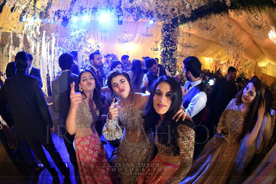 Urwa and Farhan's Reception - The night full of Dance!
