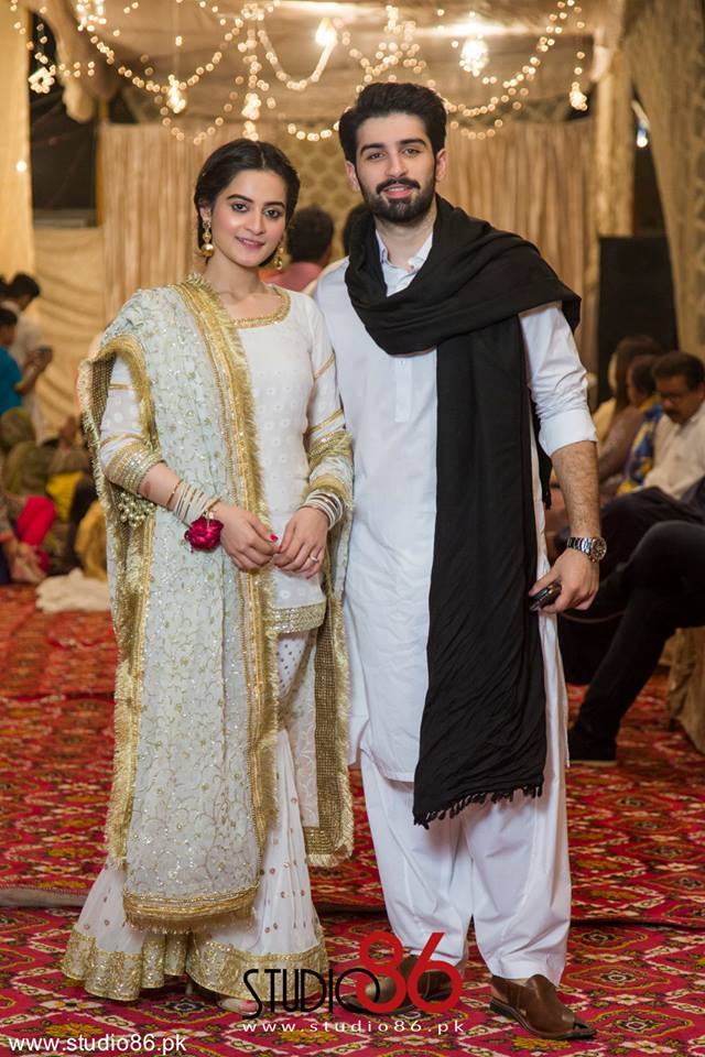 Aiman and Minal Khan Dancing on Dholki Exclusive Video & Pictures