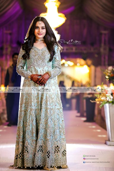 Aiman Khan & Muneeb Butt's Engagement