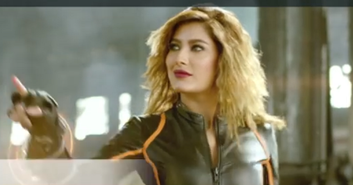 Mehwish hayat is killing it in uc browser s latest tvc reviewit pk