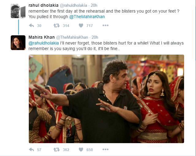 Mahira Khan & Raees' Director Rahul Dholakia Sharing Memories