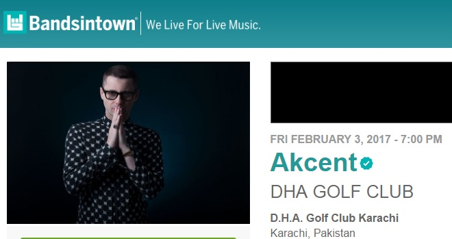 Akcent Is Coming To Karachi