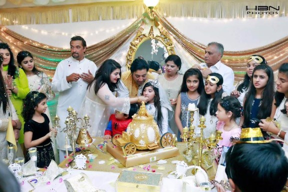 Celebrities At The Birthday Party of Javeria & Saud's Daughter