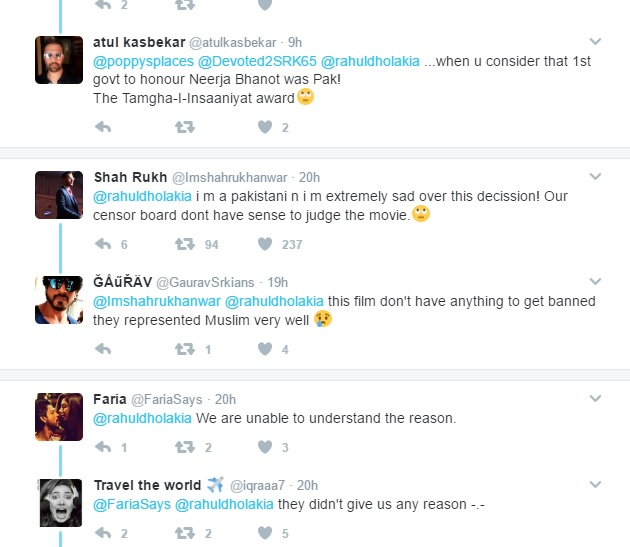 Raees: Twitterati Reacted Over The Ban!