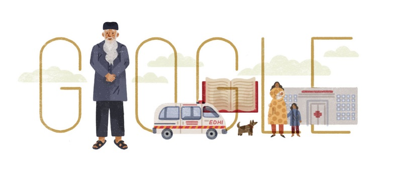 Google Pays Homage To Abdul Sattar Edhi