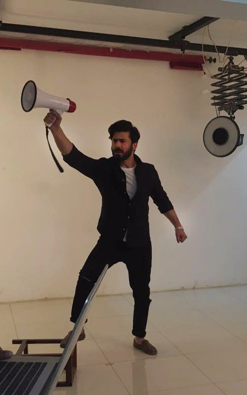 Fawad Khan Shoots For 'Bold' TVC