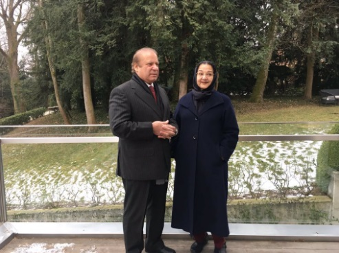 PM Nawaz Sharif Celebrates 46th Wedding Anniversary With Wife