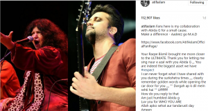 """Abida Parveen and Atif Aslam take you to another world with """"Noor-E-Azal"""""""