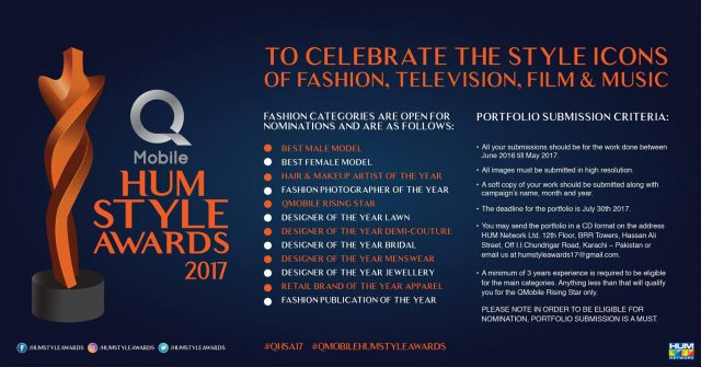 Hum Style Awards 2017 Nominations Are Open!