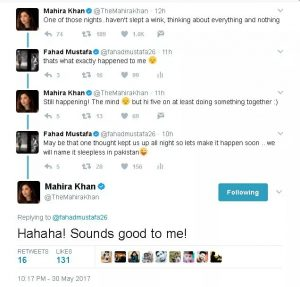 Mahira and Fahad working together?