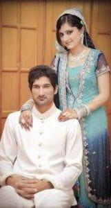 Sohail Tanveer with 2nd Wife Komal Khan