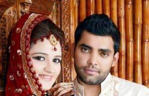 Umar Akmal wedding with noor Amina Pictures