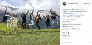 "Danish Taimoor and the cast of ""Wujood"" in Turkey!"