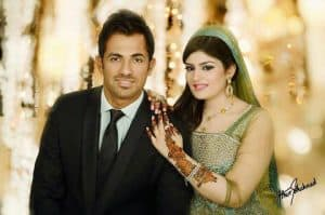 Wahab Riaz Wedding Day Pictures With His Wife Zainab Chaudhry