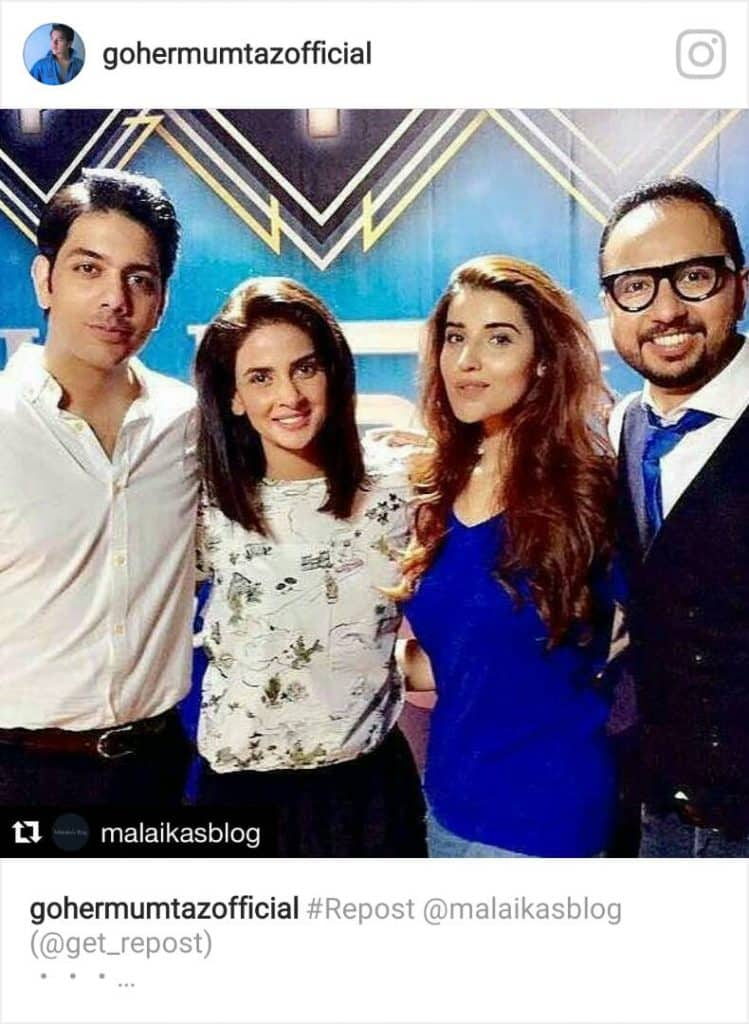 Goher Mumtaz and Hareem Farooq on board with Baaghi