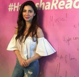 Mahira Khan is now #HameshaReady with Veet!